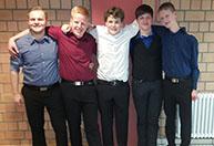 Tanzteam 2015 - Boys